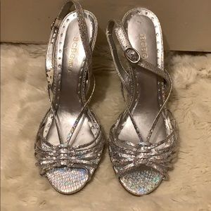 BCBG Shoes - BCBG Sparkly Sandals